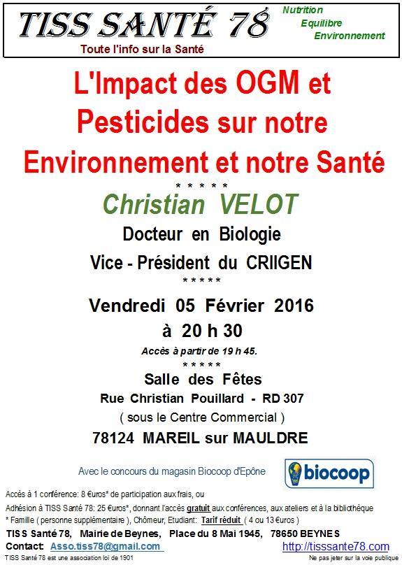 Affiche OGM