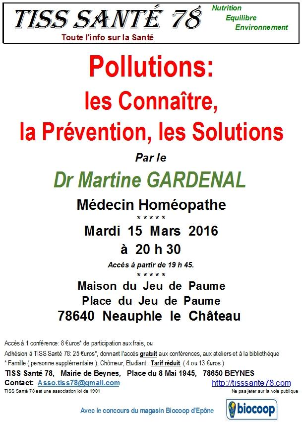 Affiche pollutions