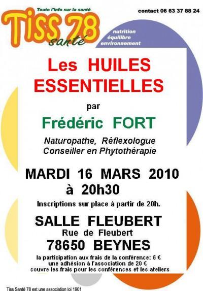 Huiles Essentielles  Frédéric Fort