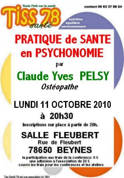 Pratique de Santé en Psychonomie